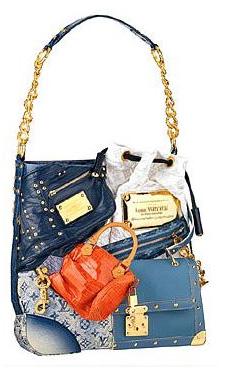 sac de luxe patchwork